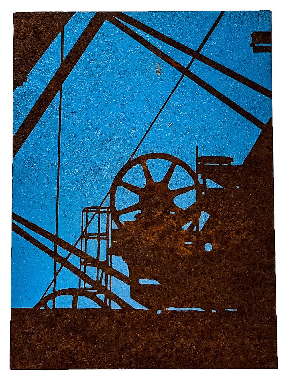 stairwell 3 -