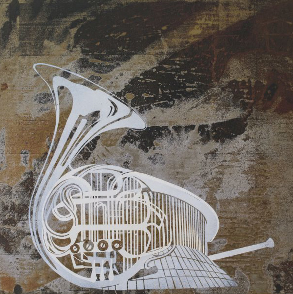 french horn, philharmonie - Offset print60 x 60 cmEUR 180