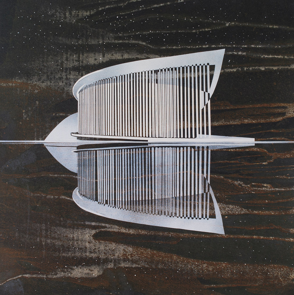 reFlections, philharmonie - Offset print60 x 60 cmEUR 180