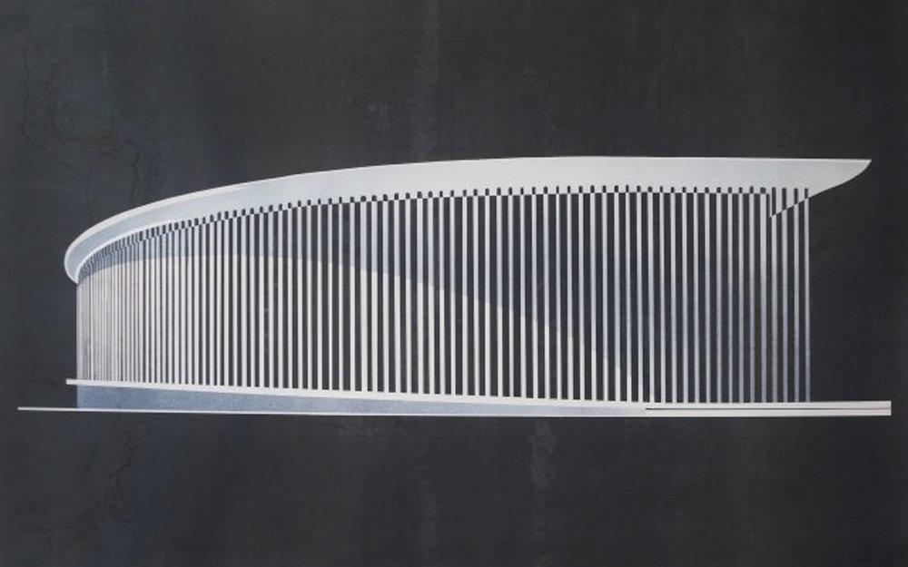 cross section, philharmonie - Offset print60 x 90 cmEUR 220