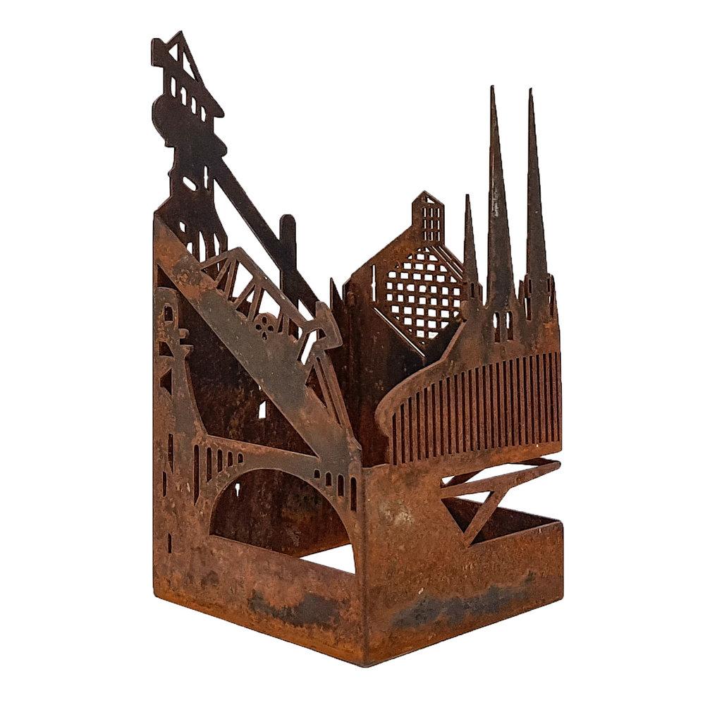 city scape - Raw Steel11 x 11 x 21 cmEUR 1.500