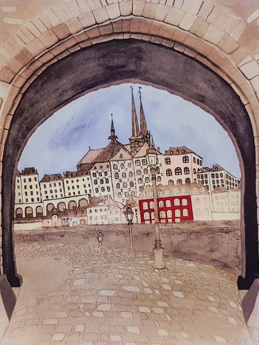 gateway - Offset print30 x 40 cmEUR 120