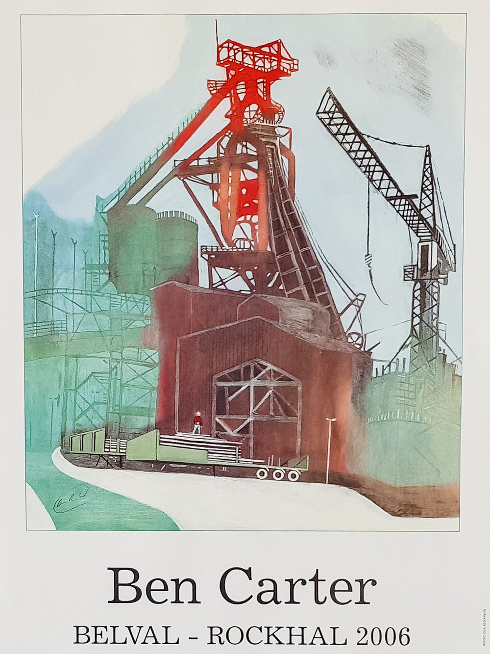 belval - rockhal - Poster50 x 70 cmEUR 80