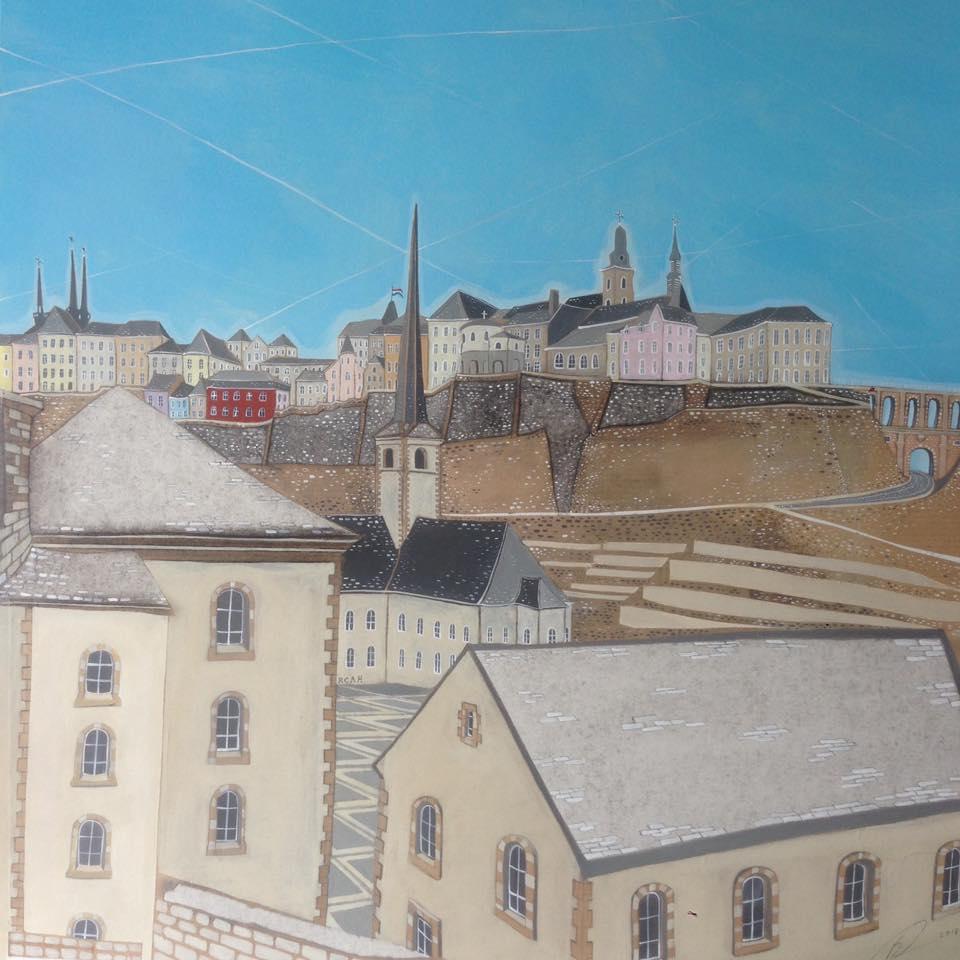 abbaye de neumunster - Offset print55 x 55 cmEUR 200