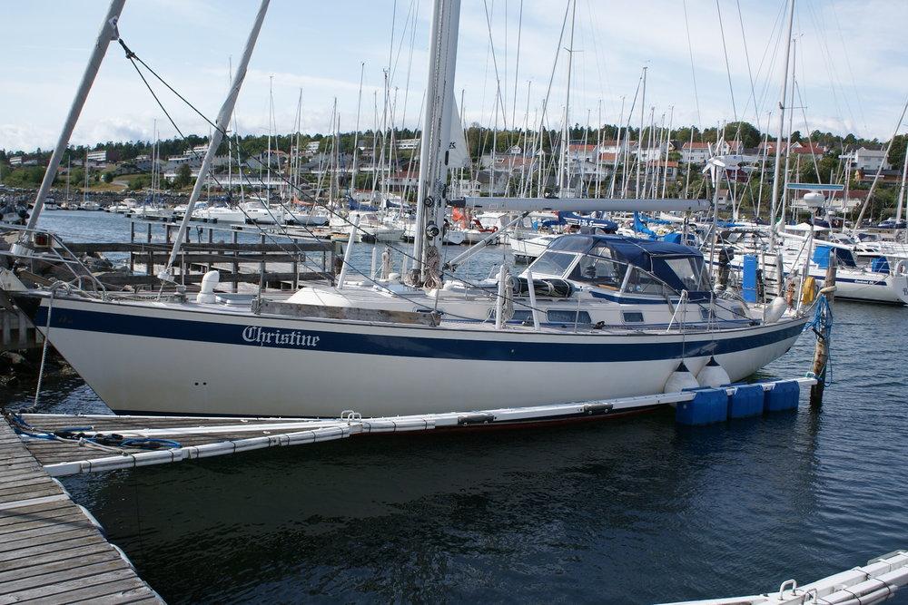 Trendsetteren HR 45 fra 1990 er tilsalgs for 1950000 - Klikk her for mer informasjon om båten