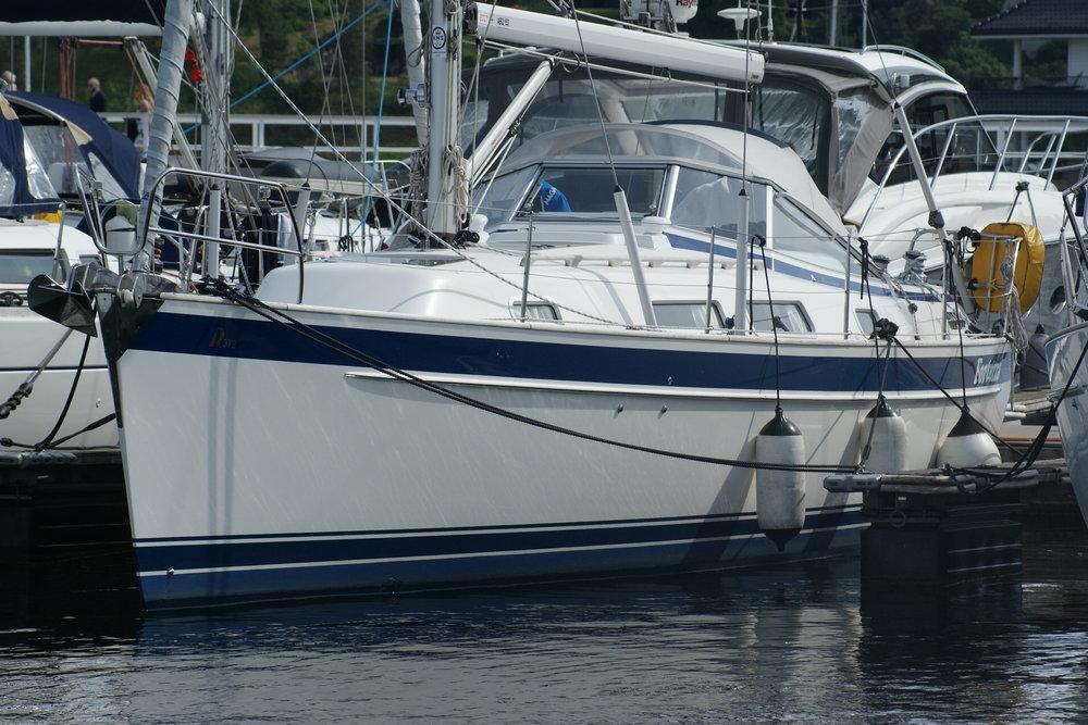 Hallberg-Rassy 372 selges for 2450000,- - Klikk her for mer informasjon om båten