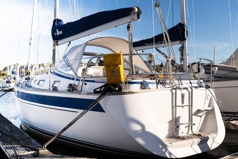 Hallberg-Rassy 342 fra 2008. Pris 1195000,- - Mer informasjon om båten finnes her