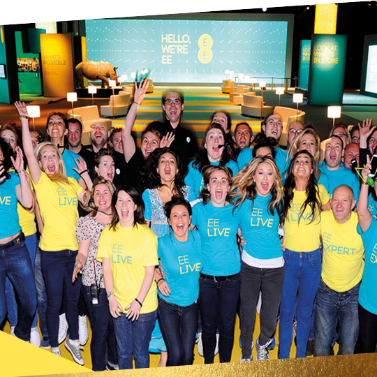 CREATING A CULTURAL IDENTITY FOR A NEW BRAND  EE    READ MORE