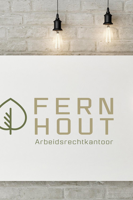 Fernhout Arbeidsrecht - Voor een nieuw advocatenkantoor in Den Haag ontwikkelde ik meerdere logovoorstellen en uitingen. Uiteindelijk is het een ander voorstel geworden, maar deze had mijn persoonlijke voorkeur.Bekijk meer van dit project ➝