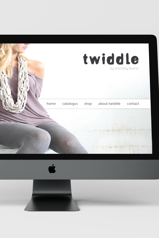 Twiddle - Voor deze startup in speciale sjaals ontwikkelde ik een logo met een natuurlijke uitstraling en een bijpassende website.Bekijk meer van dit project ➝