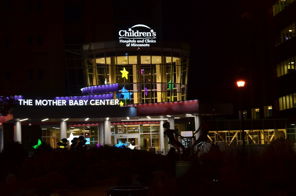 Children's Hospital Entry