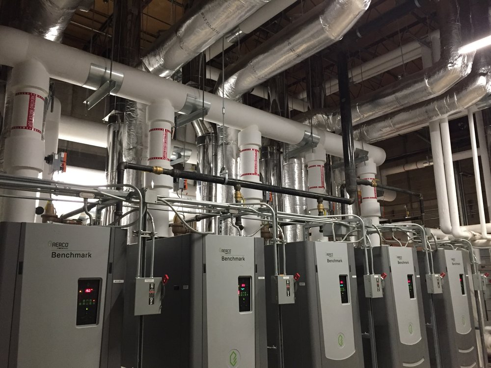 Boiler Room Installation -