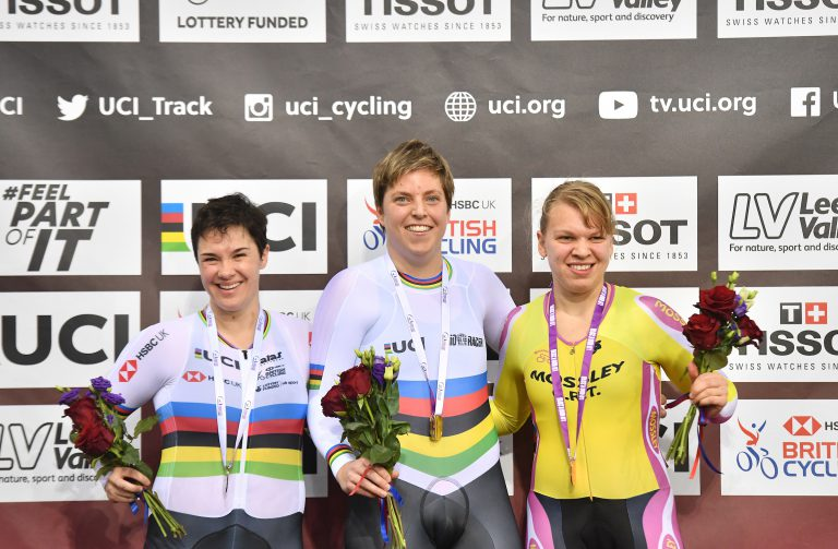 Goud voor Alyda in London