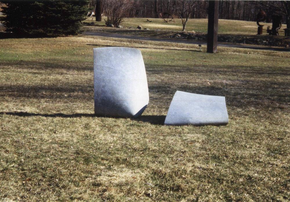Exhibition view , Kouros Gallery Sculpture Park. 2001. Connecticut. USA