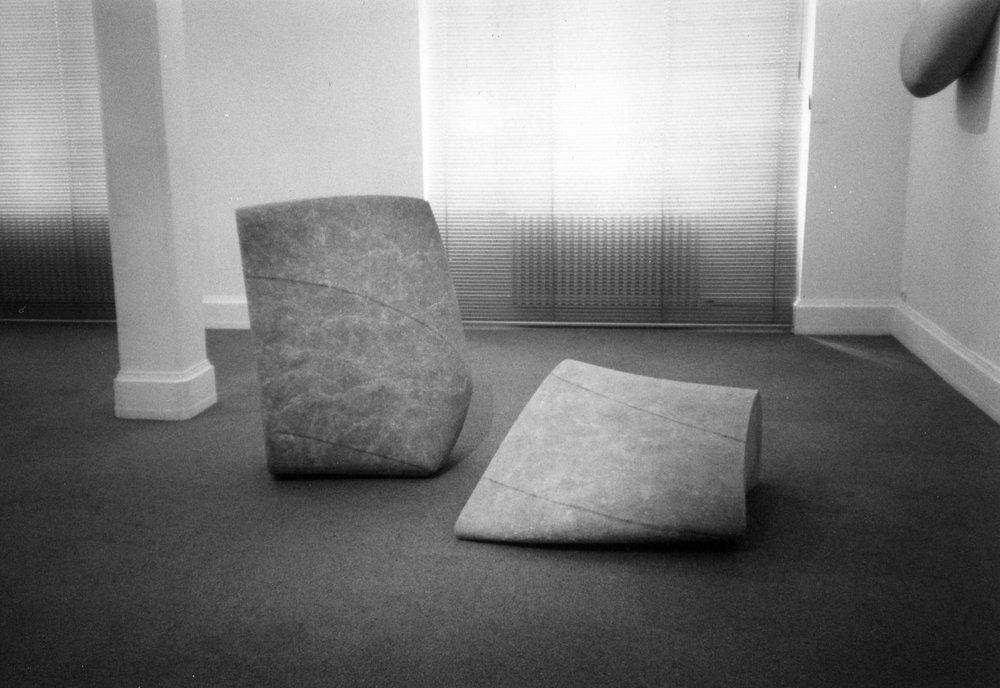 Exhibition view . 1999. Galerie art et patrimoine. Paris.