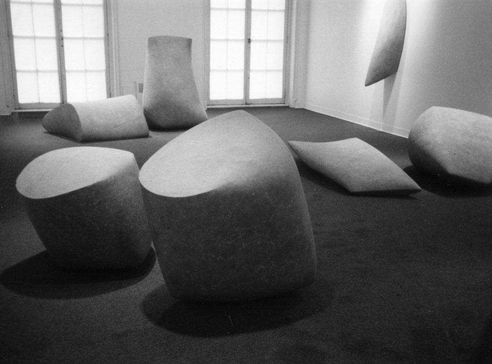 Exhibition view . 2001. Kouros Gallery. New York. USA