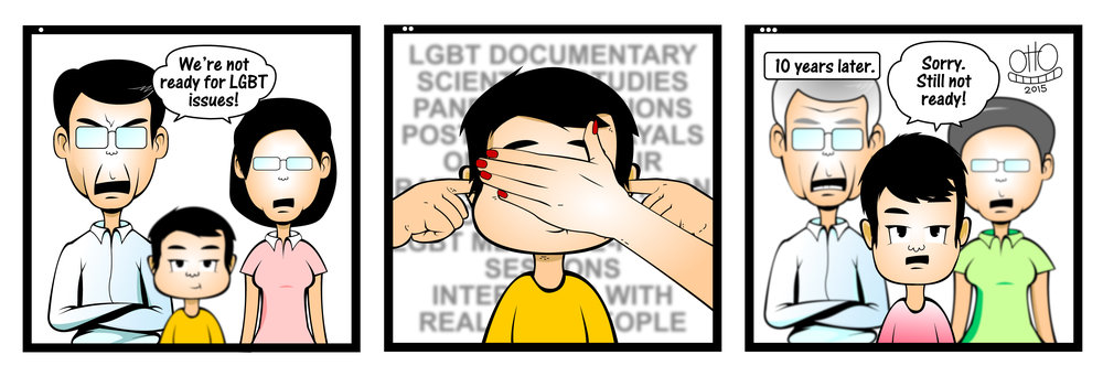 Positive portrayal of homosexuality in the media