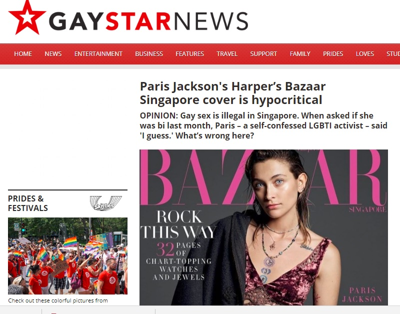 Gay Star News, 17 August 2018