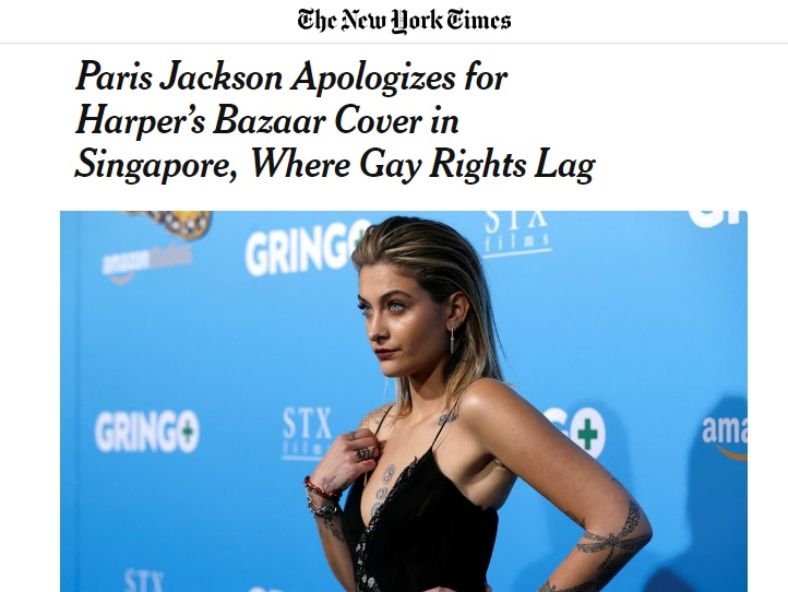 New York Times, 21 August 2018