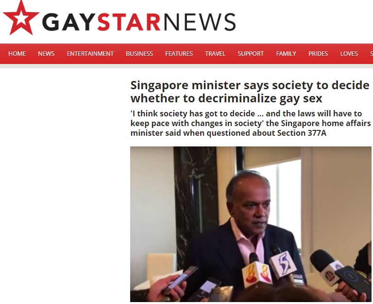 Gay Star News, 7 September 2018