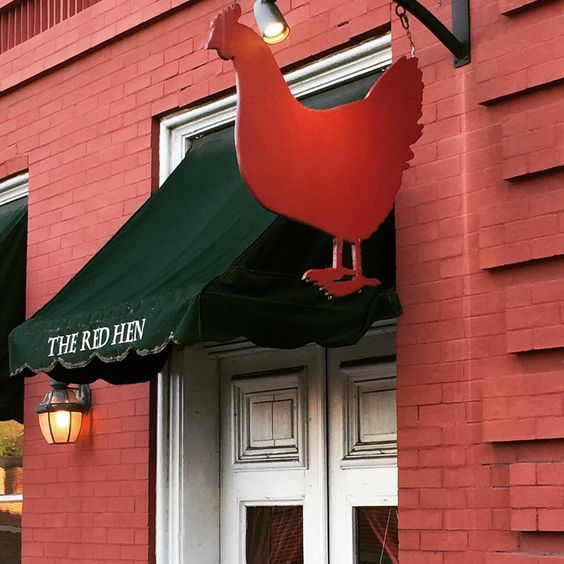 The Red Hen, c/o @ jason_grover