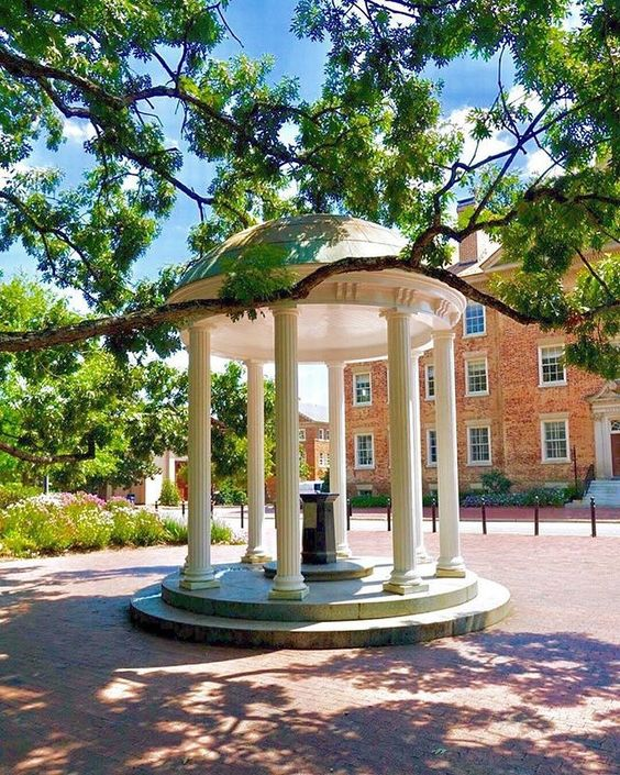 The University of North Carolina, UNC c/o @ uncchapelhill