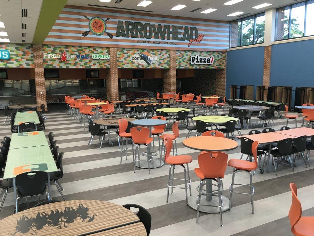 Albany HS Cafeteria.JPG