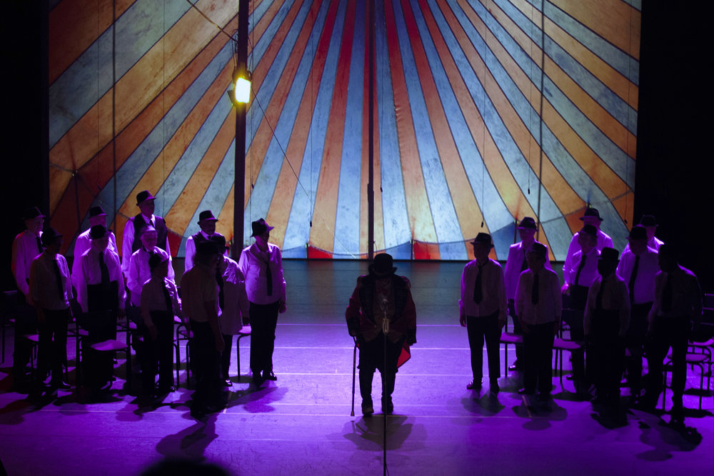 The Chorus under the big tent