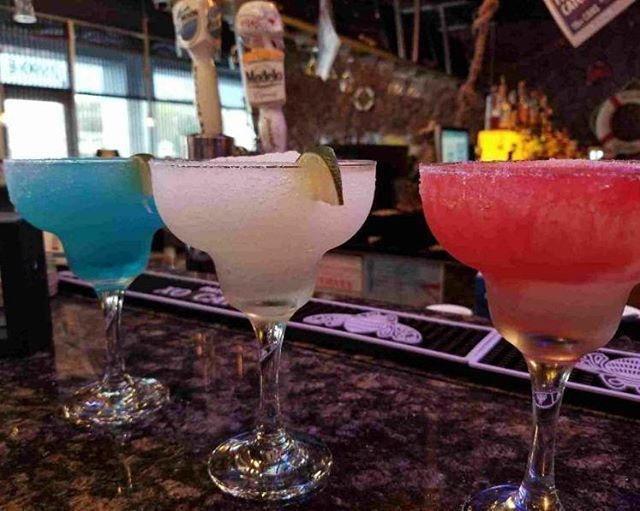 Happy Monday.... it's #Margarita Time at Hook and Reel!!!! $5 Frozen Margaritas ALL DAY LONG!!