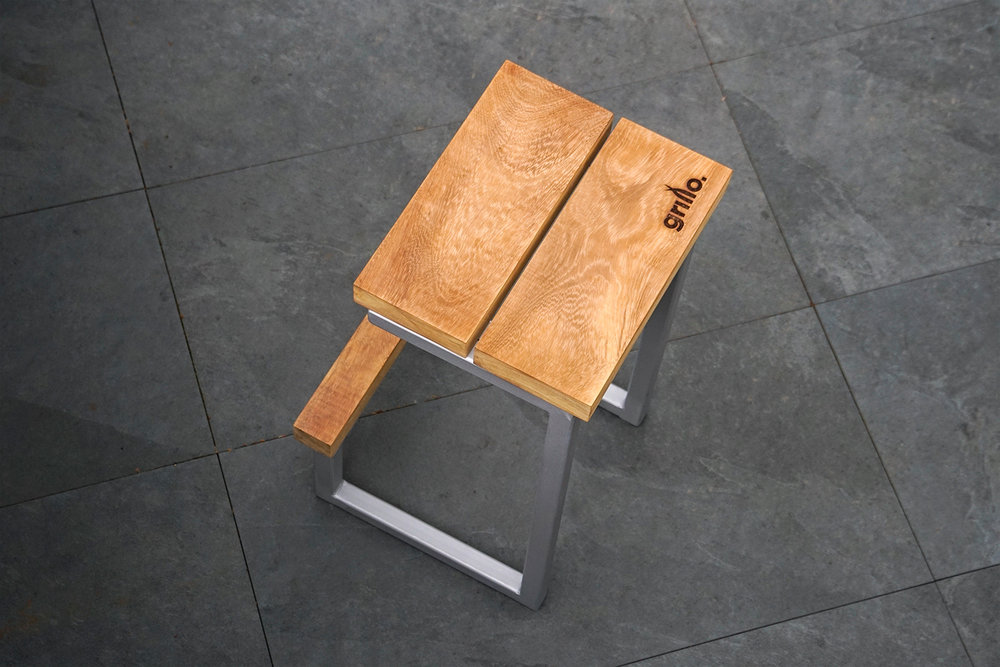 Grillo Forge barstool