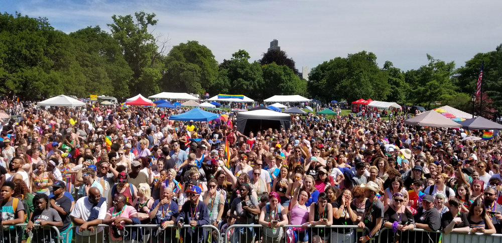 2018 Festival Crowd View from Stage