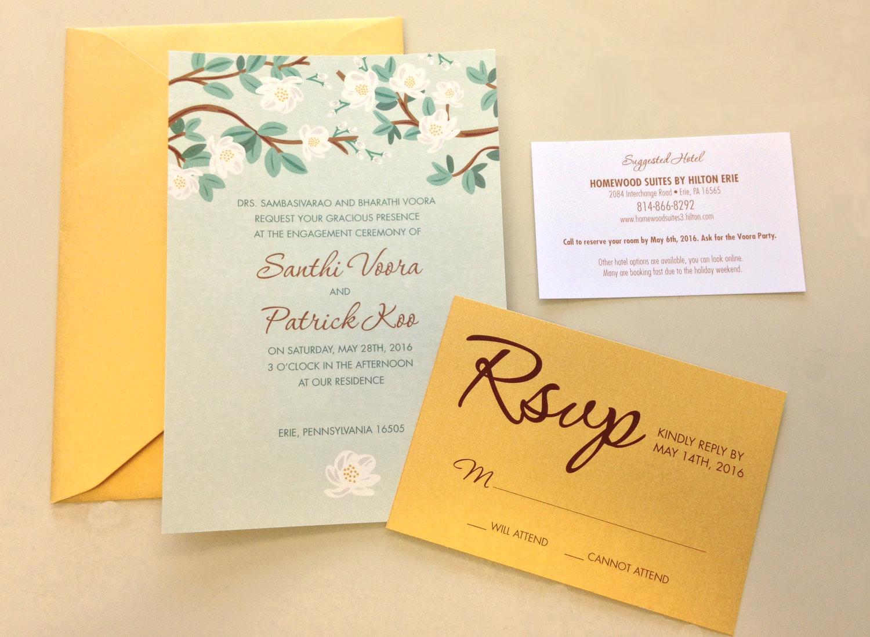 Wedding Custom Invite Link Kimkopy Printing