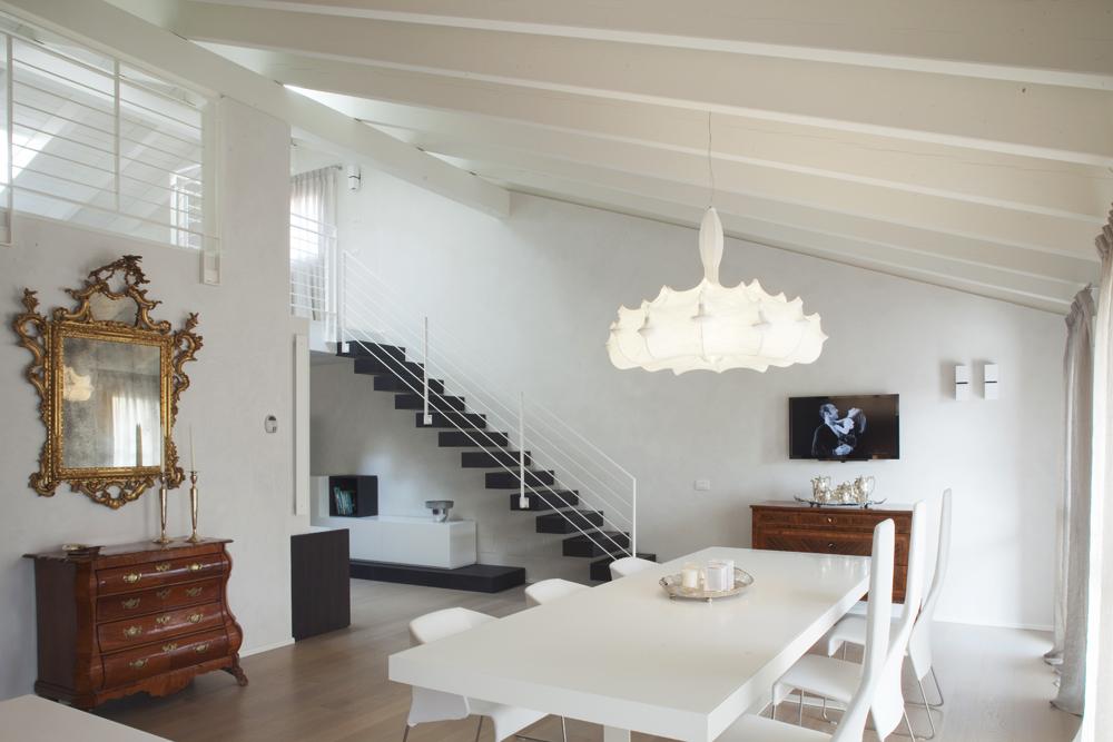 CASA PRIVATA Progetto di interni Maurizio Di Mauro Architetto progetto luci Marcello Colli