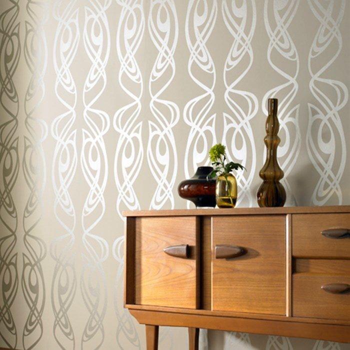 wallpaper family room