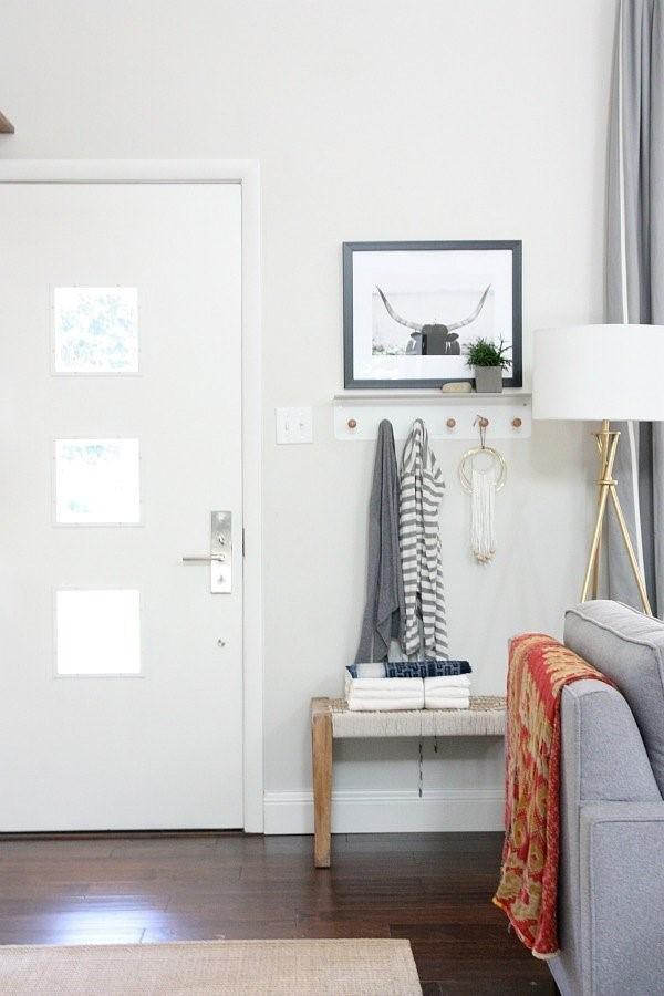 design an organized entryway