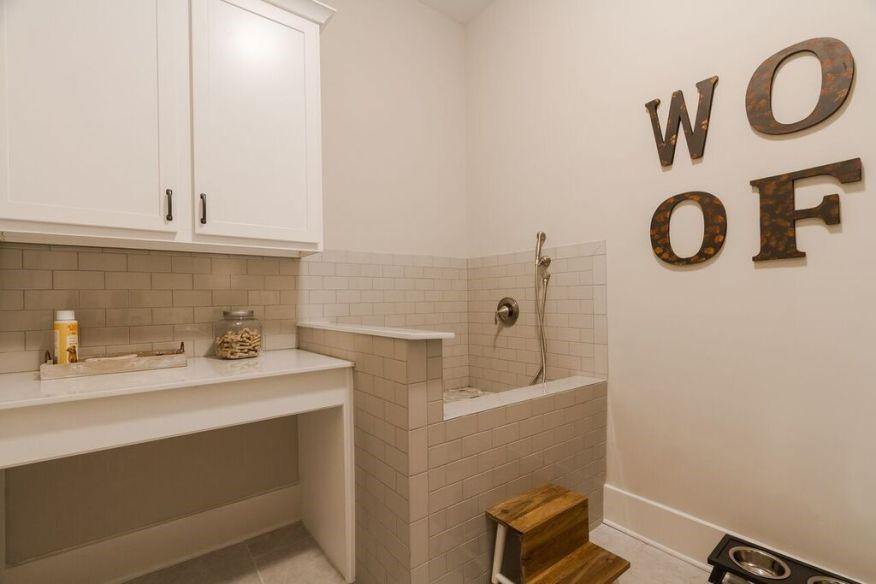 design trend dog wash station
