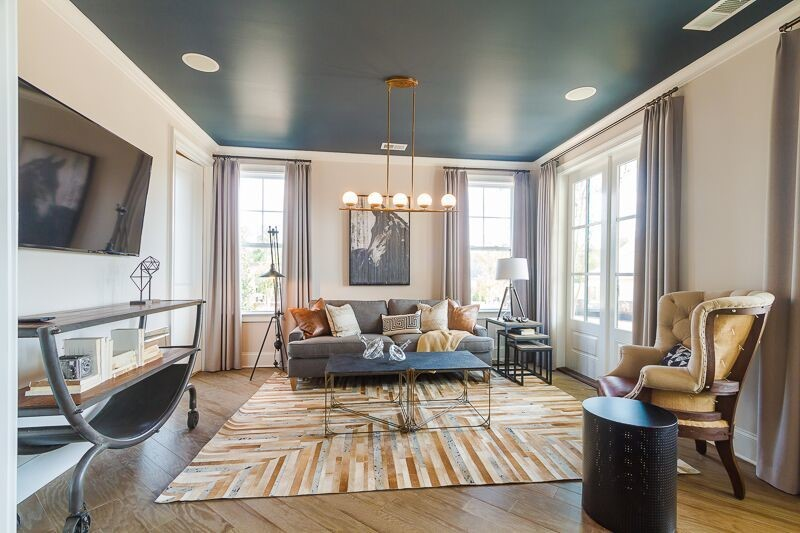 design trend painted ceilings