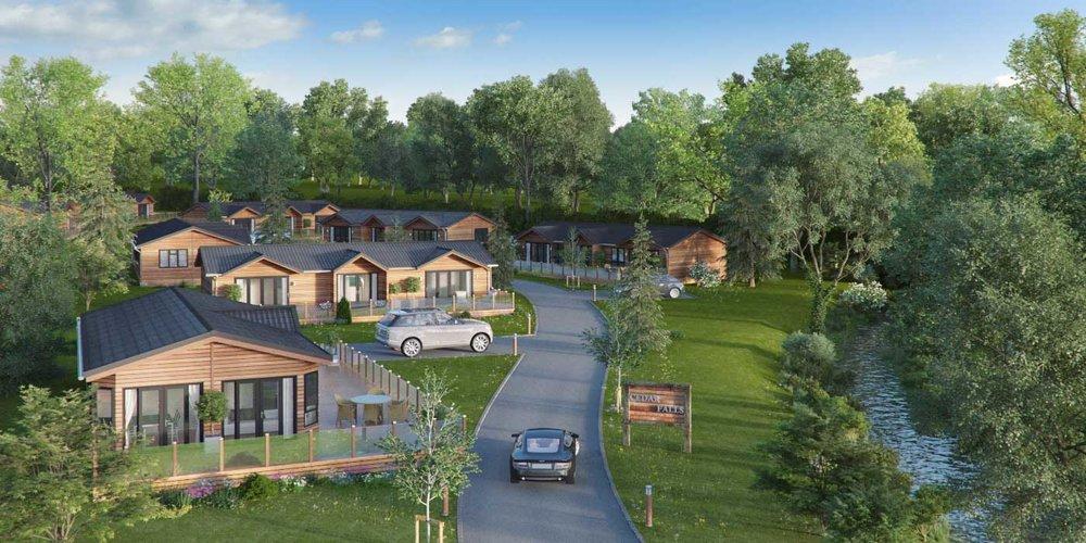 Visualisation of Luxury Lodges