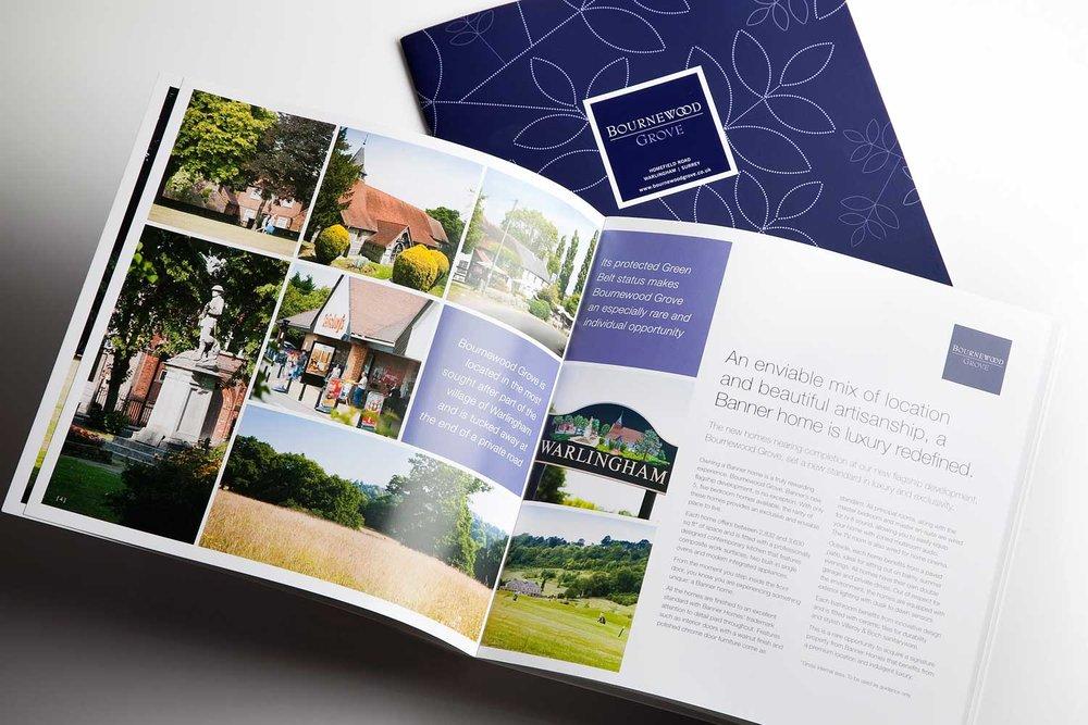 Property brochure inside spreads