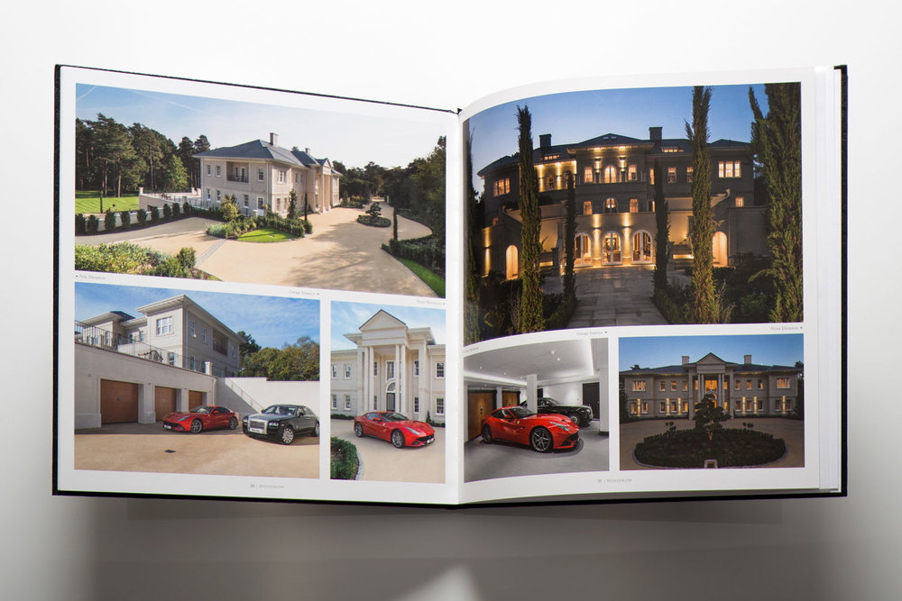 Property brochure inside spreads