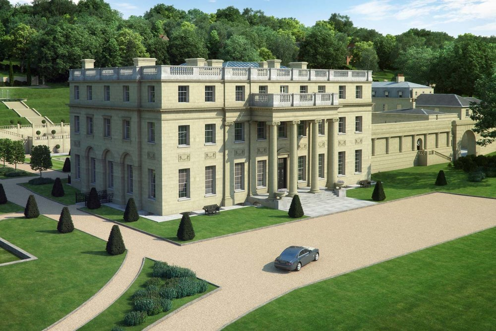 Artists impression image of Benham Park