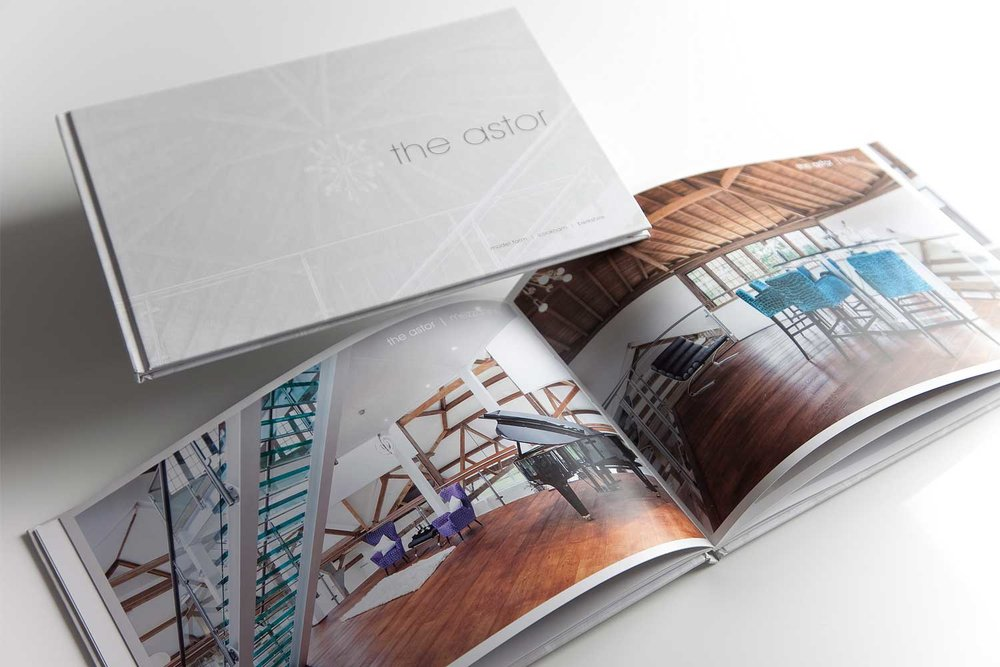 Property marketing brochure by Charles Roberts Studios