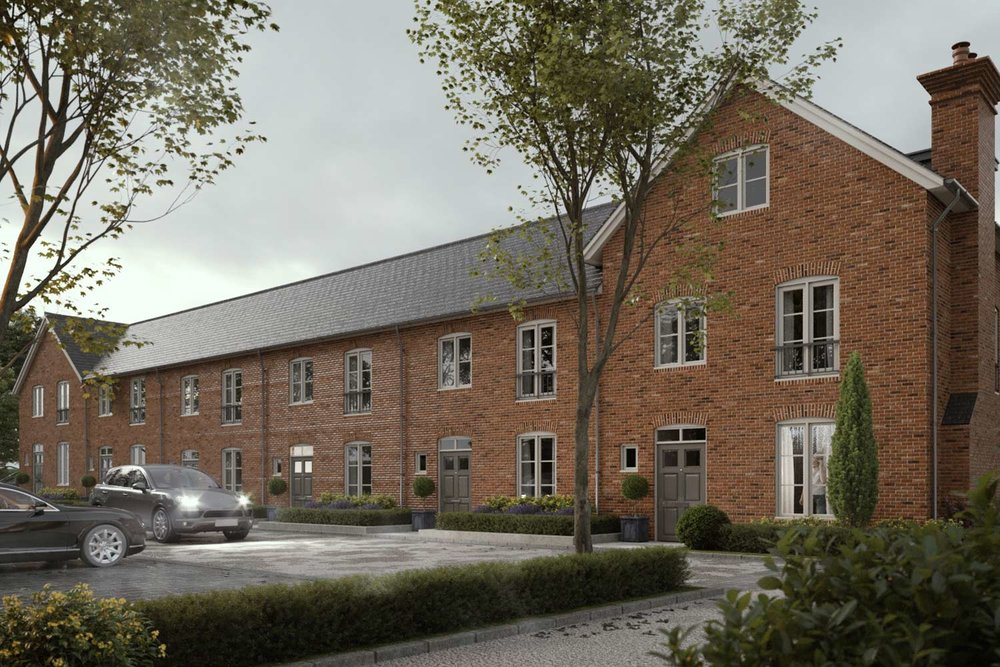 Moody artists impression of residential development