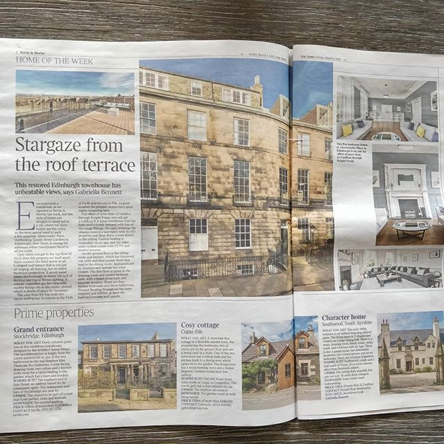 Home of the week in The Times 'Bricks and Mortar' section.