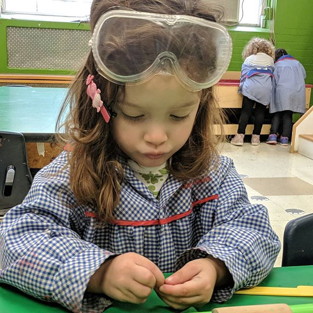 Future scientist hard at work!