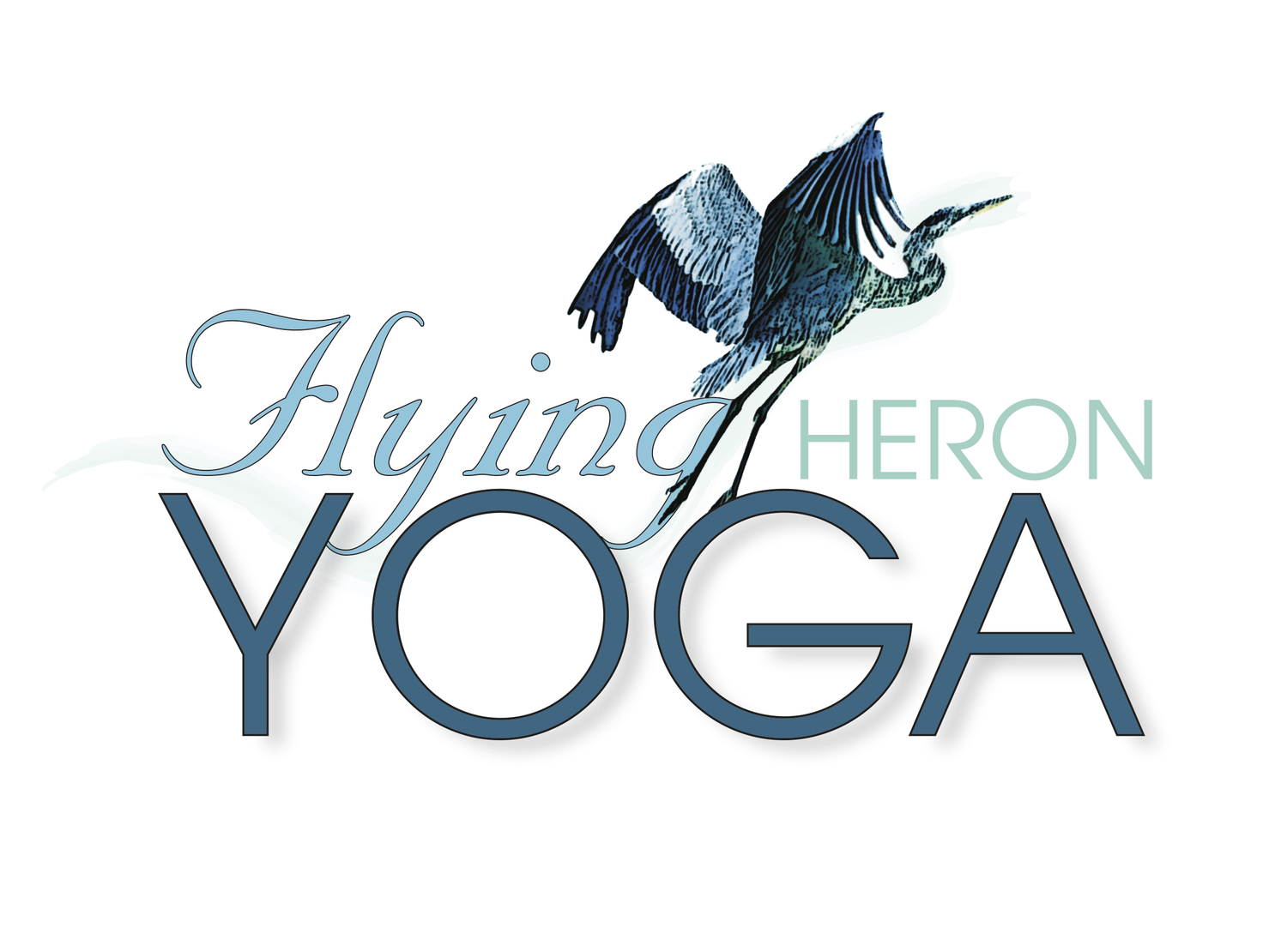 Flying Heron Yoga