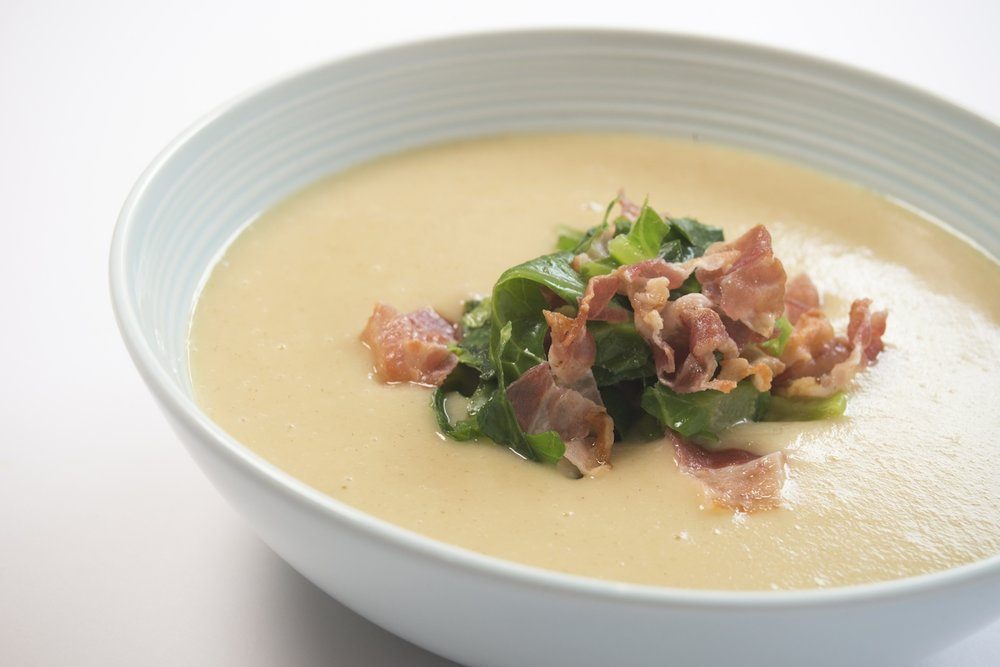 fennel soup with greens and bacon.jpeg