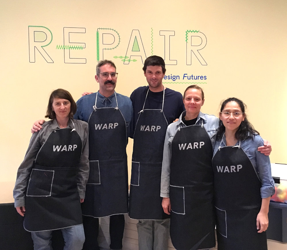 WARP Repair Shop. The RISD Museum: October 6-7, 2018