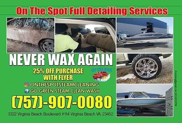 - Contact On The Spot for all of your vehicle, motorcycle and boat detailing needs!