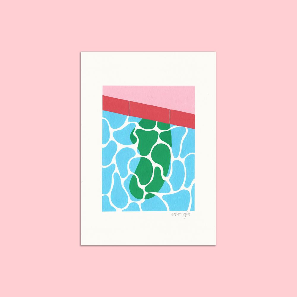 Rocio Egio x Lahara illustration print